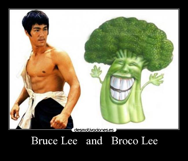 Bruce Lee   and   Broco Lee -