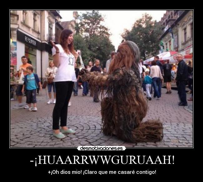 HUAARRWWGURUAAH! (FOTO) (Desmotivaciones)