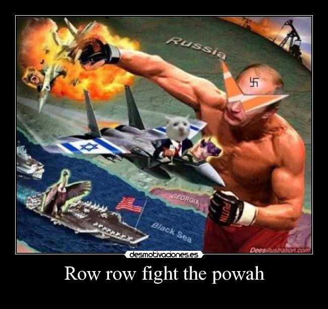 Row row fight the powah -