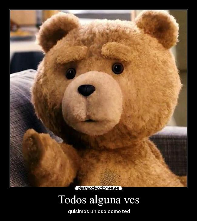 Imagenes del oso ted con frases chistosas - Imagui