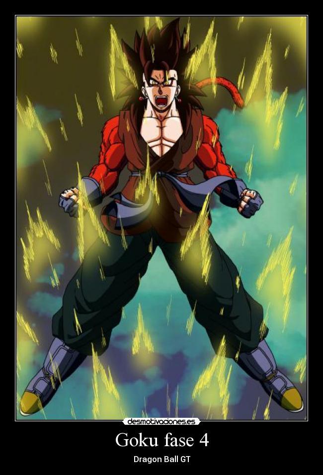 Imagenes De Goku Fase 4