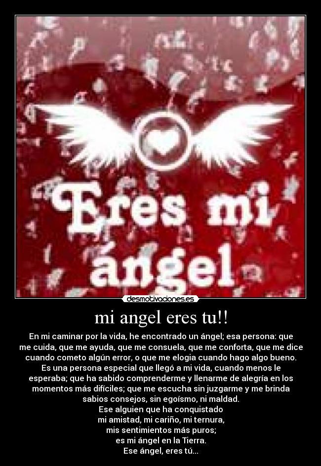 Mi Angel Eres Tu Desmotivaciones