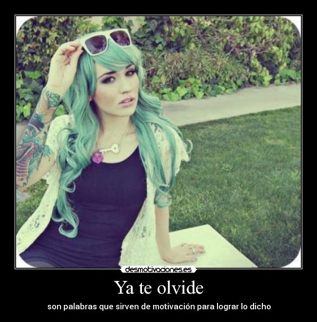 carteles girl with tattoo desmotivaciones