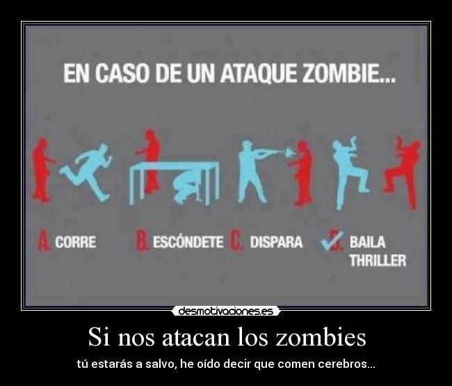 Carteles y Desmotivaciones de zombieUmbrella Corporation Zombies