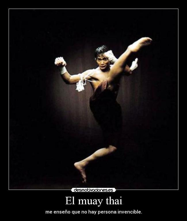 El Muay Thai Desmotivaciones