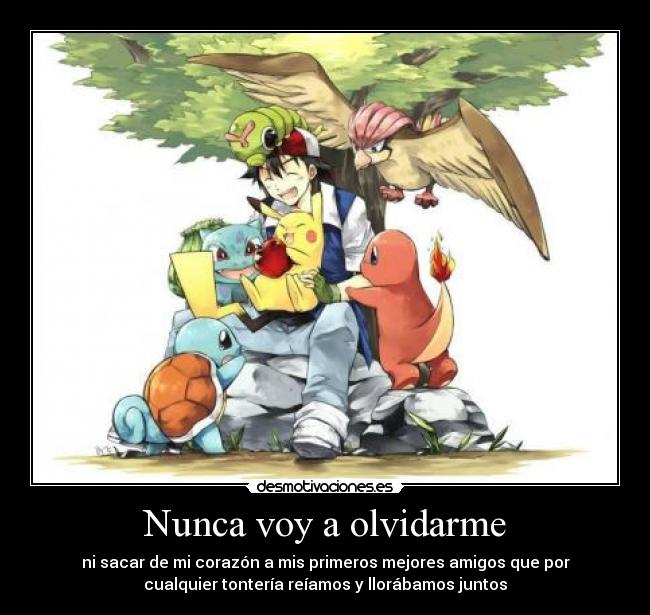 carteles anime pokemon ash satoshi pikachu pidgeotto caterpie bulbasaur squirtle charmander kyurem red dragon desmotivaciones