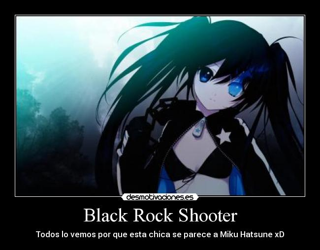 Hatsune Miku Black Rock Shooter - Hot Girls Wallpaper