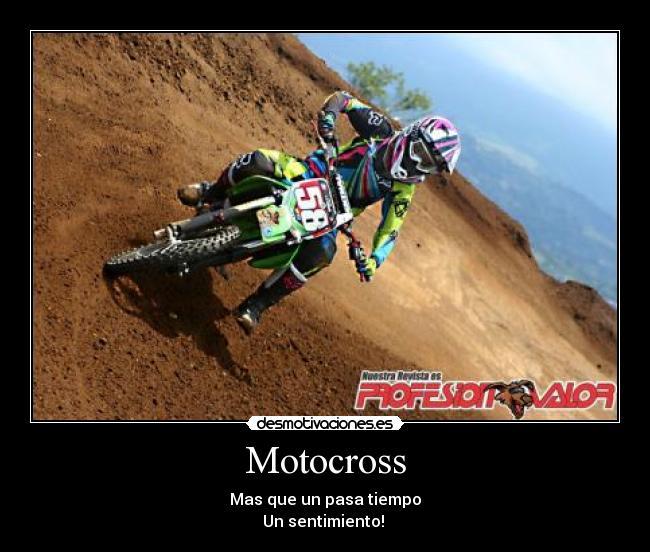 Motocross desmotivaciones amor - Imagui