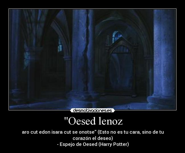 Usuario albasanchez desmotivaciones for Espejo harry potter