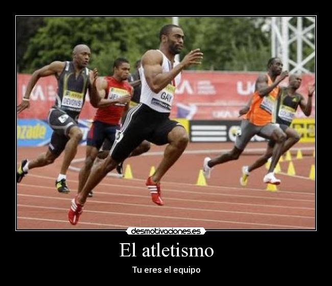 equipo atletismo: