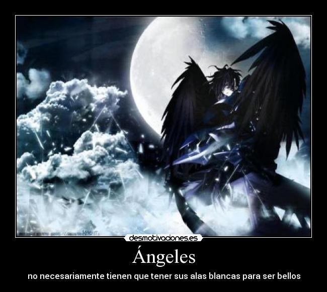 Imágenes, Carteles y Desmotivaciones de angeles alas negras clanhorde