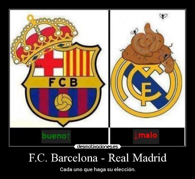 Carteles Barsa Madrid Desmotivaciones