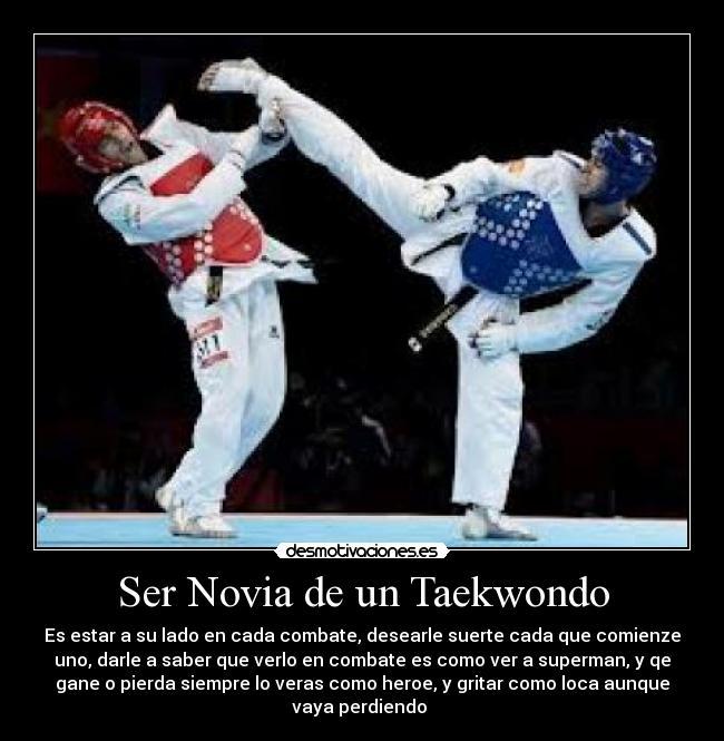 carteles taekwondo desmotivaciones