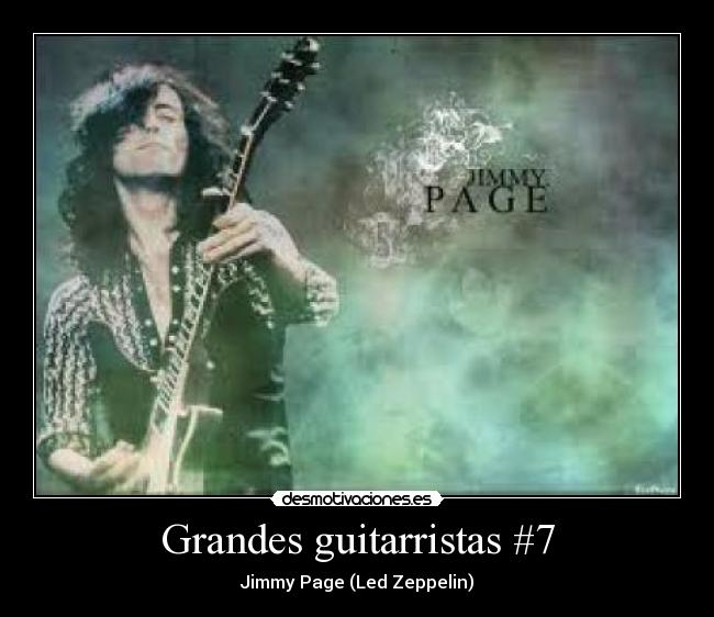 Grandes guitarristas #7 - Jimmy Page (Led Zeppelin)
