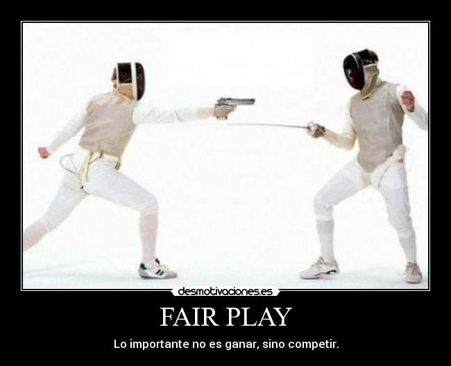 Fair Play Desmotivaciones