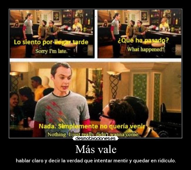 carteles zai se que descripcion poner the big bang theory sheldon penny howard rach locas desmotivaciones