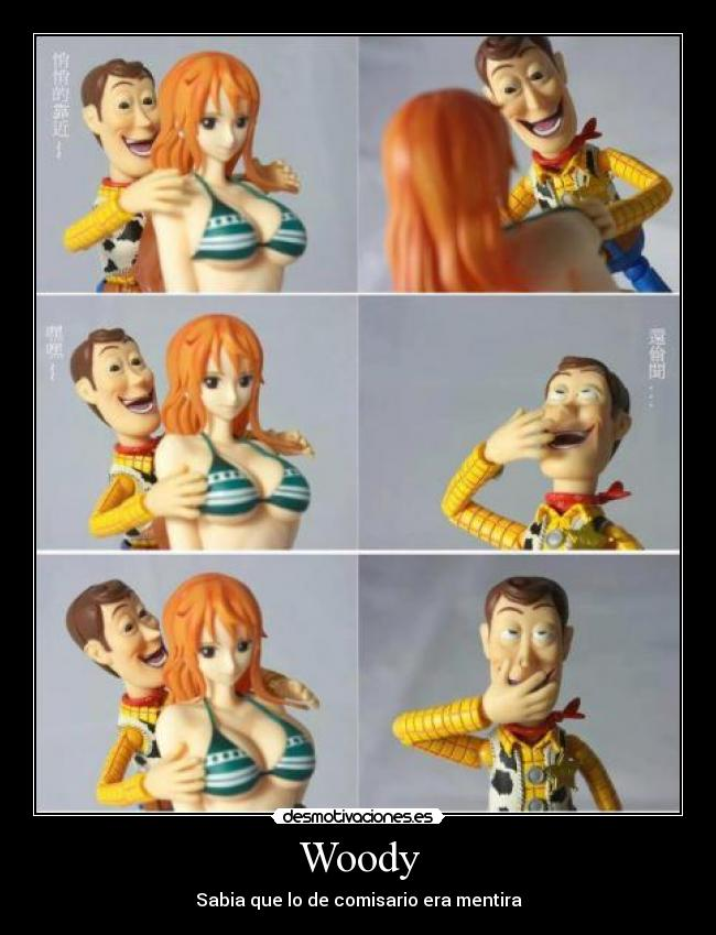 carteles toy story woody pervertido desmotivaciones