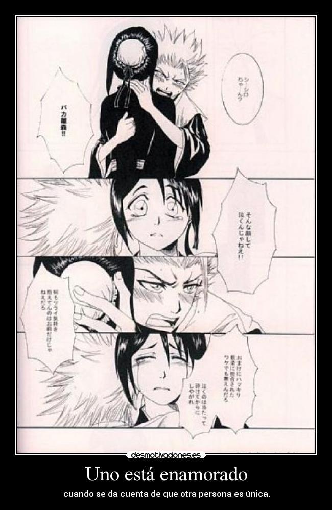 carteles hitsuhina toushiro hitsugaya hinamori momo bleach anime manga desmotivaciones