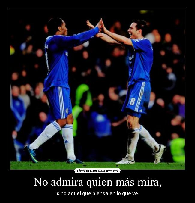 carteles frank james lampard super frankie desmotivaciones