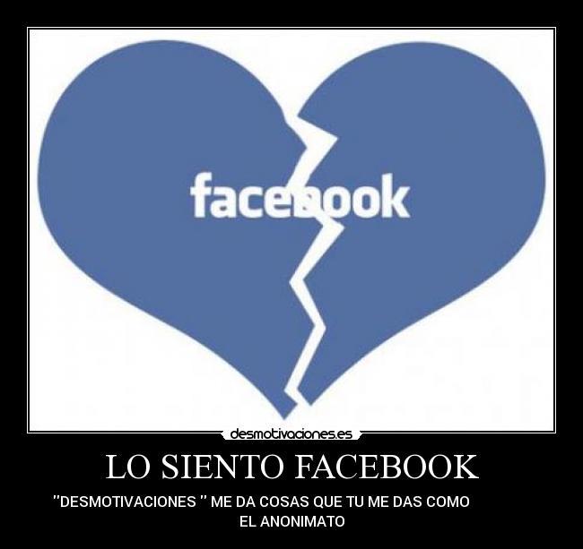 Carteles Facebook Desmotivaciones Desmotivaciones