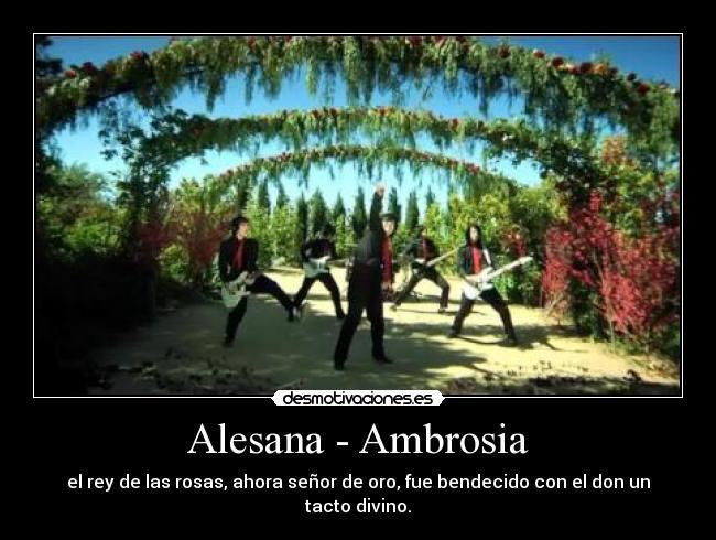 The Alesana Ambrosia {Forum Aden}