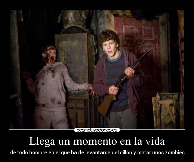 carteles vida zombieland and shaun shaun the dead desmotivaciones