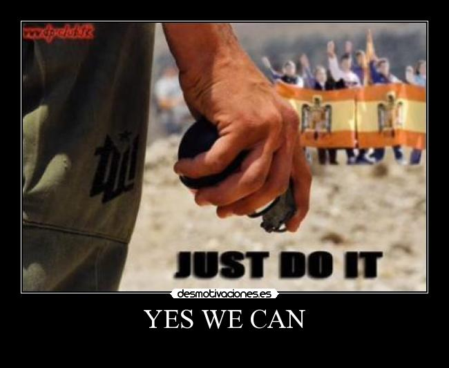 YES WE CAN -