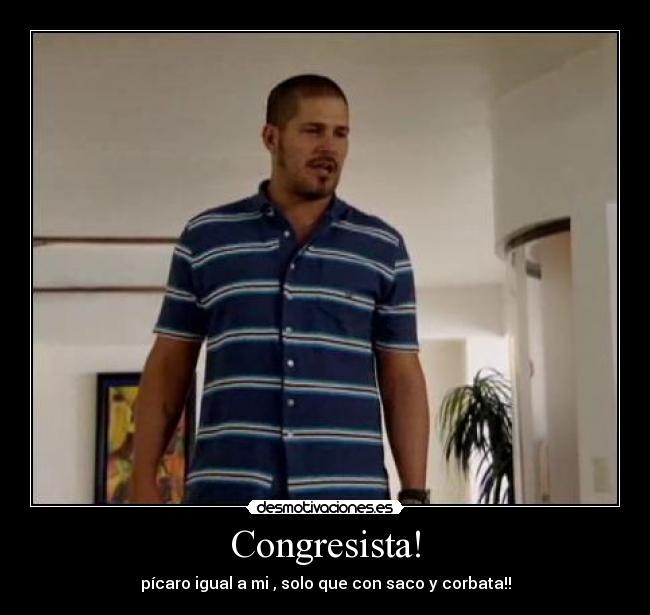 Congresista Desmotivaciones