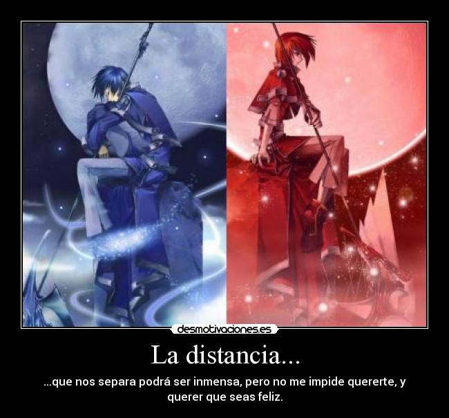 Distancia Vocaloid Anime