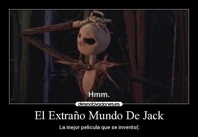 El Extraño Mundo De Jack | Desmotivaciones