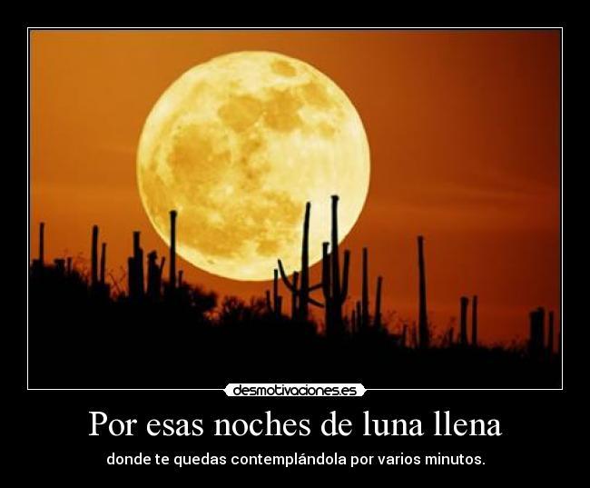 Por Esas Noches De Luna Llena