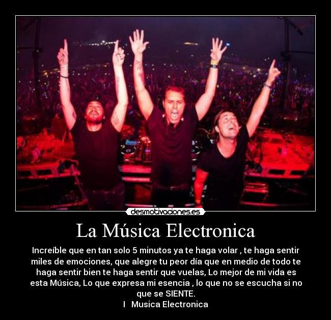 Por que me gusta la musica electronica!