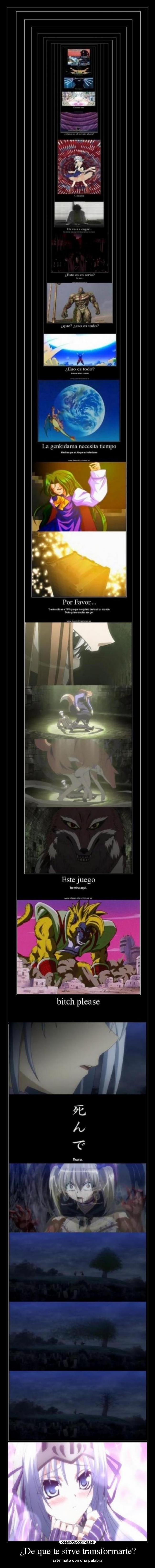 carteles clanfeurry anime shinigamisempai kore zombie desu the dead cadena eucliwood hellscythe desmotivaciones