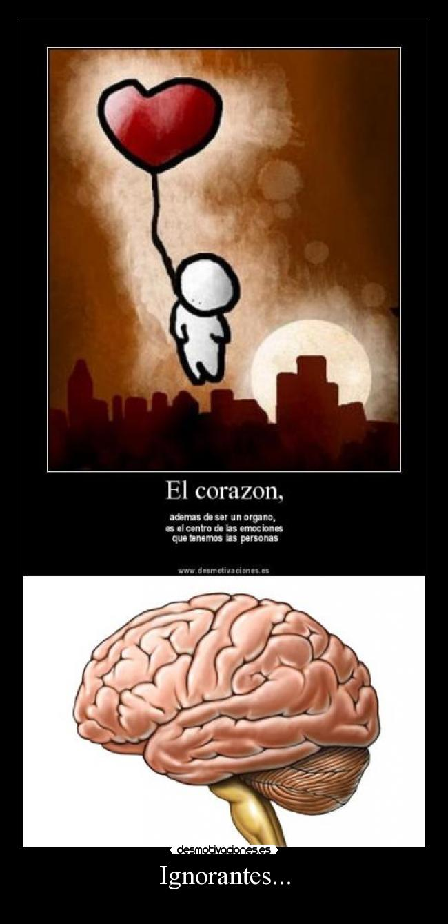 Ignorantes... -