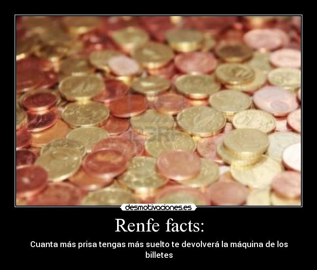Renfe facts: -