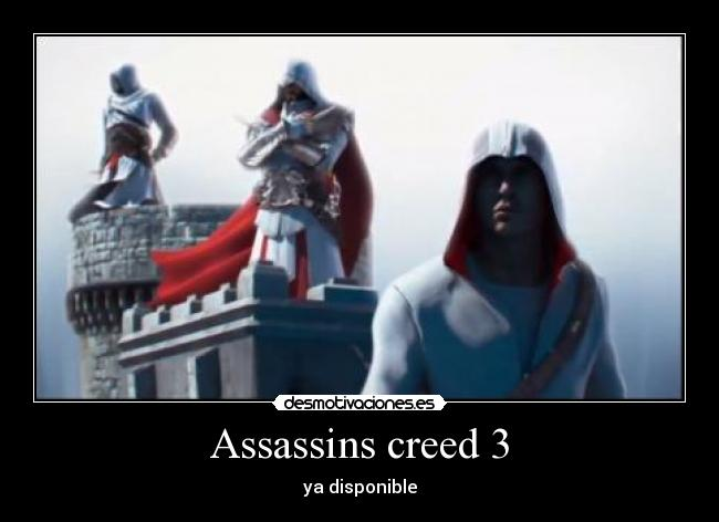 Assassins creed 3 - ya disponible