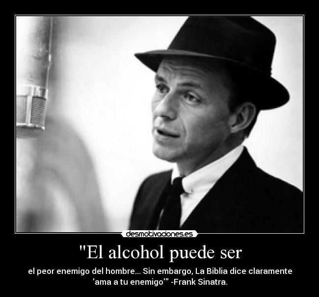 Los preparados del alcoholismo o la hierba