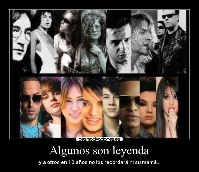 musica leyendas: