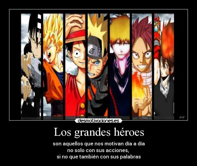 carteles anime cross over dragonball fairy tail khr one piece soul eater bleach naruto desmotivaciones