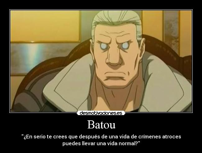 carteles batou ghost the shell stand alone complex caaf justiciaradical geenocidas asesinos masas desmotivaciones