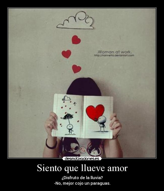 Paraguas Del Amor Amor Amor Lluvia Paraguas