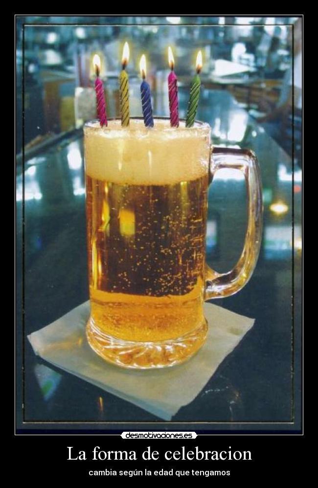 Cerveza cumpleaños - Imagui