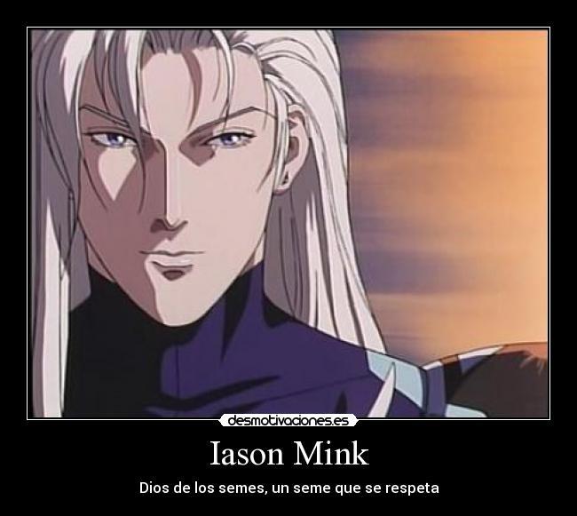 Iason Mink de Ai no kusabi.