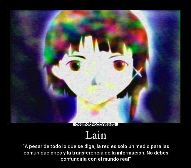 Experimento serial Lain, el anime que deberías ver
