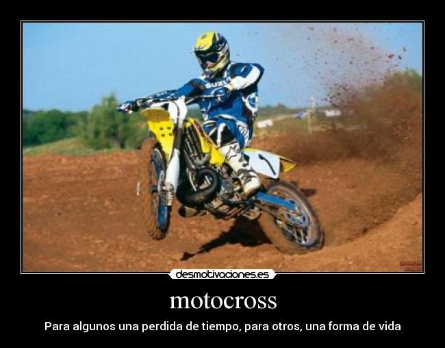 carteles dios vendiga motocross desmotivaciones