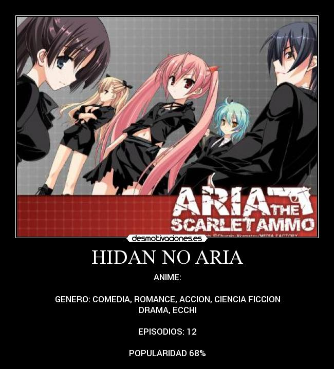 carteles anime hidan aria desmotivaciones