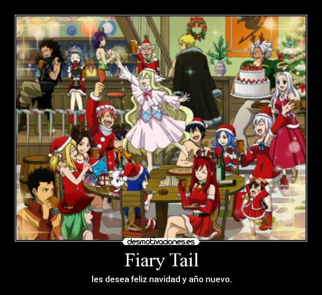 fairy tail anime christmas wallpaper - photo #23