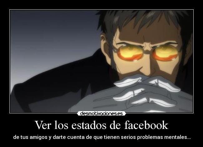 carteles facebook anime evangelion gendou hikari desmotivaciones