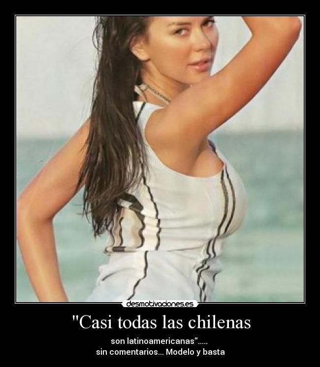Casi todas las chilenas