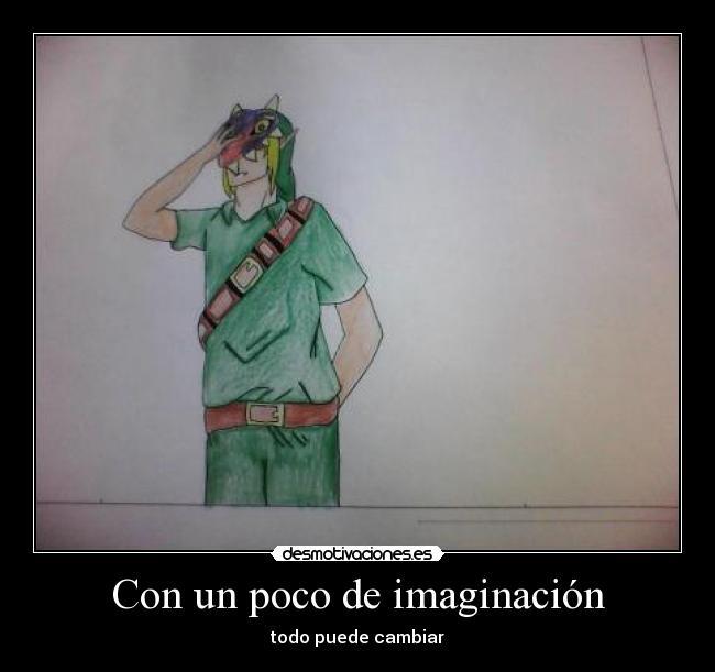 Con un poco de imaginación | Desmotivaciones